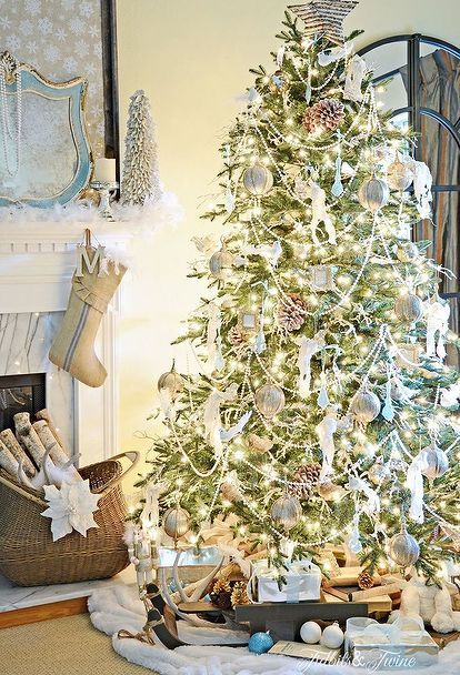 french vintage christmas tree christmas decorations home decor seasonal holiday decor - Vintage Christmas Home Decor