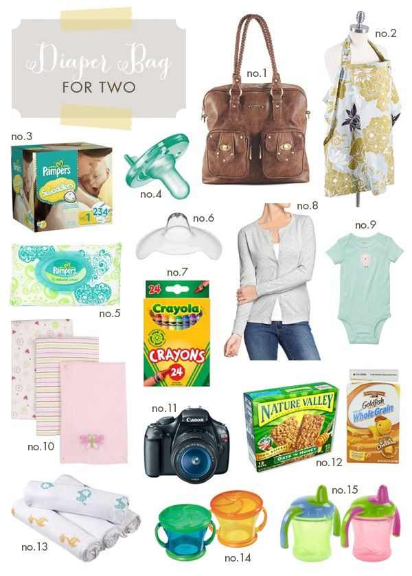Diaper Bag For Two