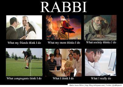 Funny Jewish Meme : Rabbi what i really do meme funny jewish photos