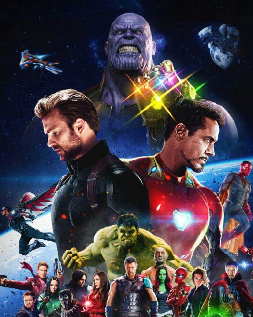 Avengers Infinity War Iconic Comic Book Superheroes Marvel