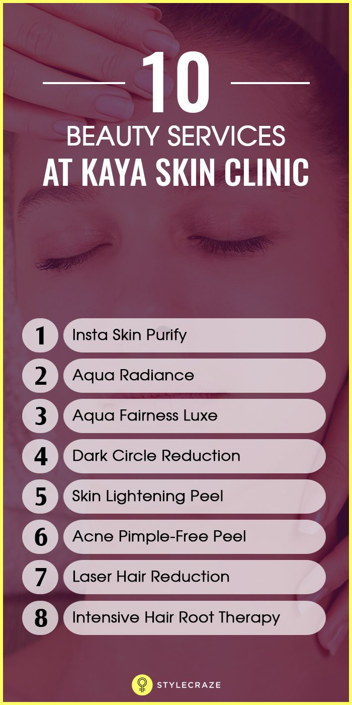 Top 10 Beauty Services At Kaya Skin Clinic   Things you should know