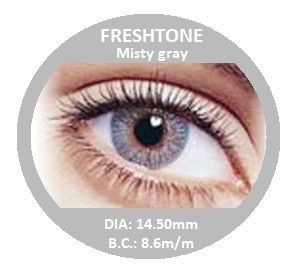 Fresh Tone In Misty Gray Eye Color Contacts Colored Contact Lenses
