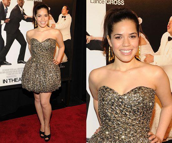 Celeb Style America Ferrera Hollywood Fashion Celebrity Style