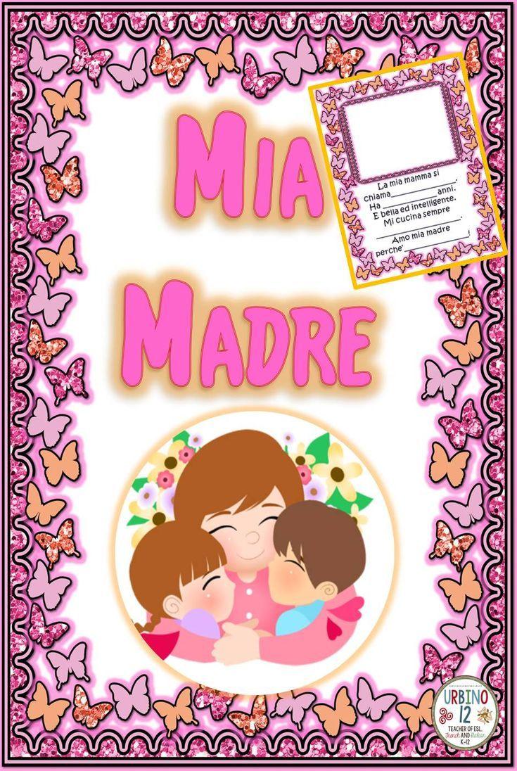 English In Italian: Italian: La Festa Della Madre