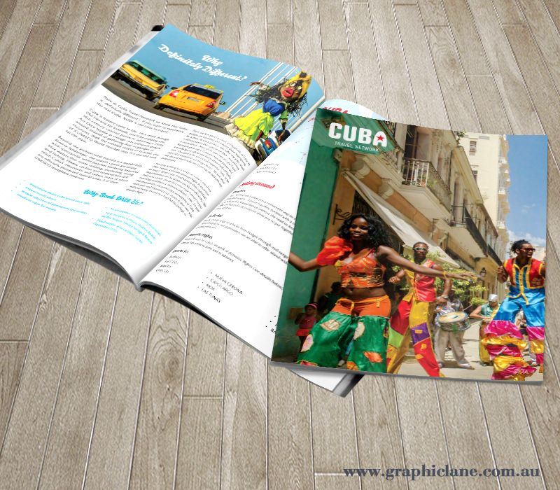 Cuba Travel Brochure  Brochure Design By Graphic Lane