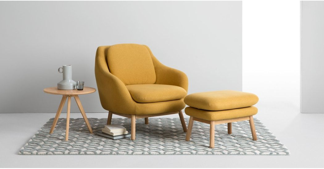 Oslo Fauteuil D Appoint Jaune D Or Fauteuil Jaune Fauteuil Scandinave Jaune Fauteuil D Appoint