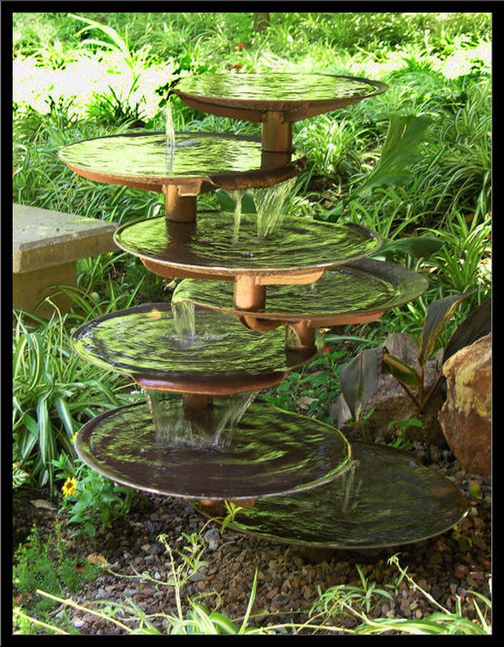 30 Creative Pond And Fountain Ideas Garden Fountains Water Features In The Garden Fountains Outdoor