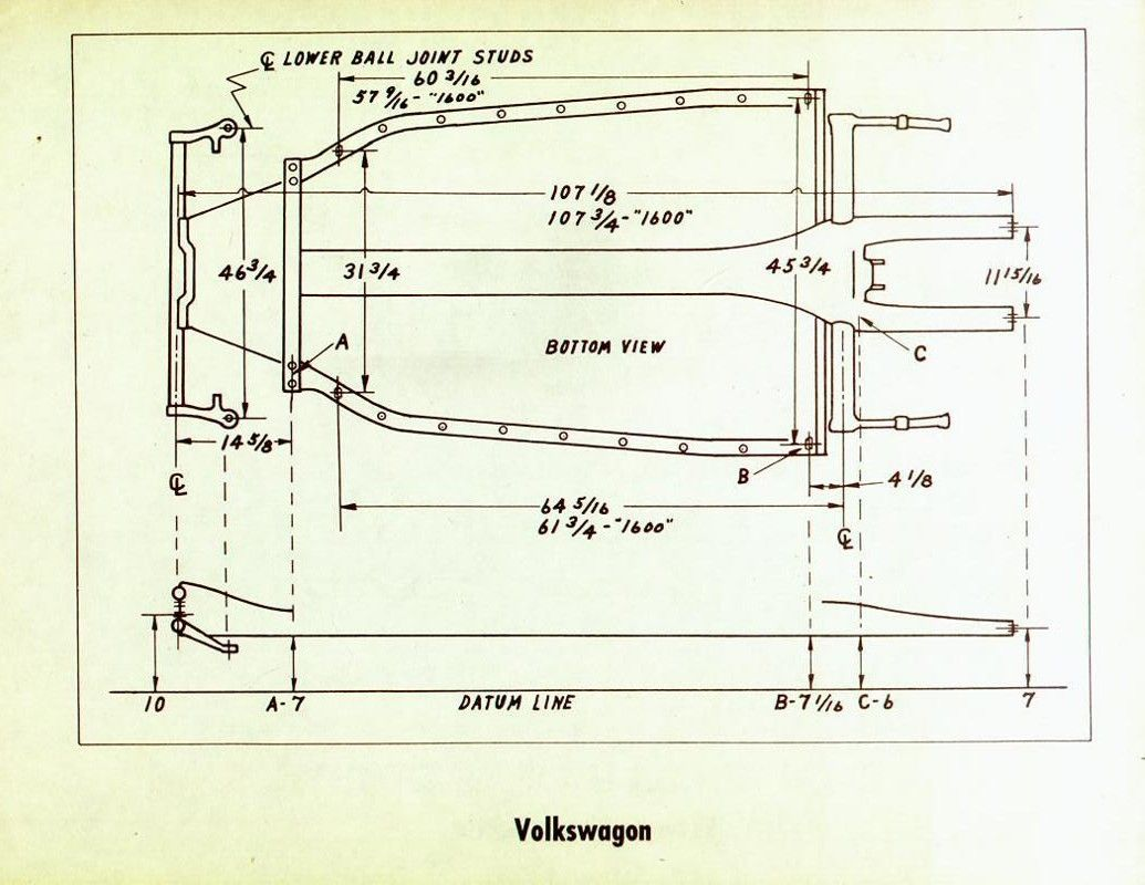 image may have been reduced in size. click image to view ... vw dune buggy frame diagrams