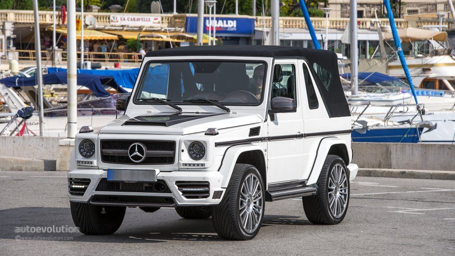 Mercedes G500 Cabriolet Soft Top On Http Www Autoevolution
