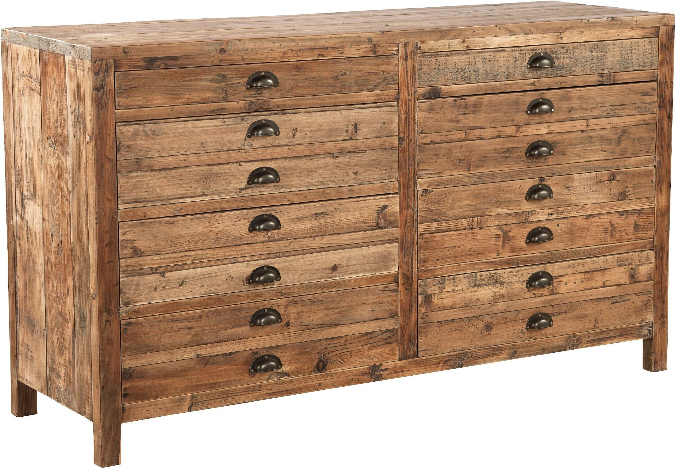 Apothecary Brown Medium Chest Reclaimed Wood Furniture Shabby Chic Dresser Shabby Chic Furniture
