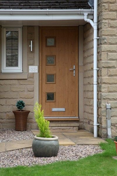 irish oak milano composite door and frame