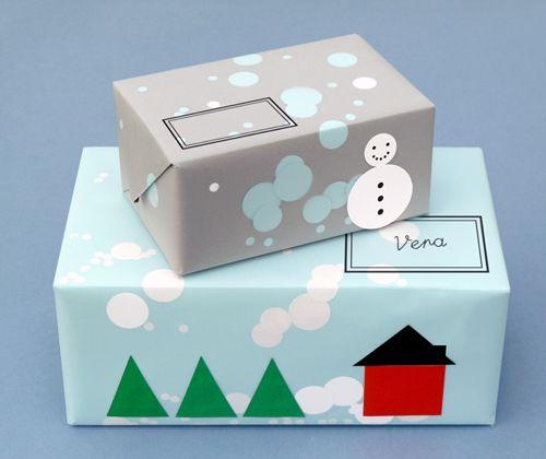 Amazing DIY giftwrap by Present & Correct for Design*Sponge.