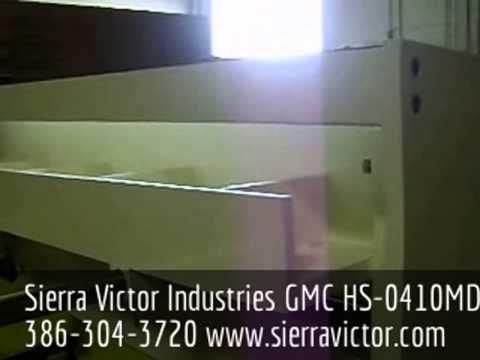This Is The New Gmc Hs 0410md 4 X 10 Ga Deluxe Hydraulic Shear Please Call Sierra Victor Industries Today At 386 304 3720 Or Visit Ww With Images Hydraulic Shear Victor