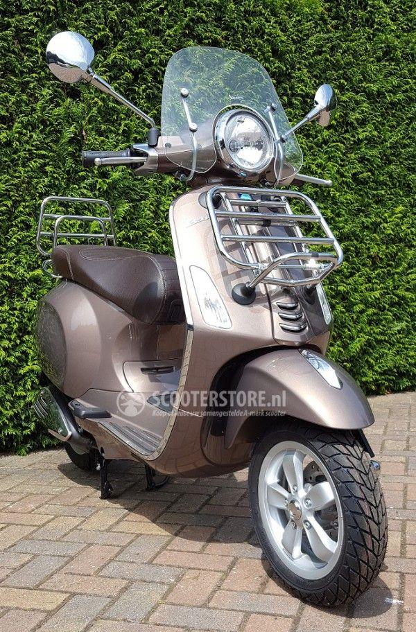 Vespa Primavera Touring Marrone Kopen Of Leasen Scooterstore
