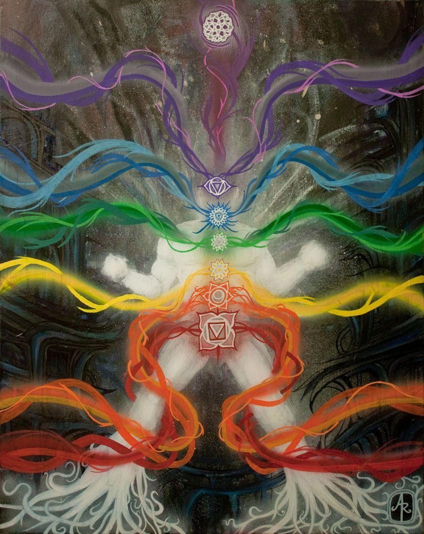 Pin by dthomas  on Canvas paint  Pinterest  Chakras Chakra