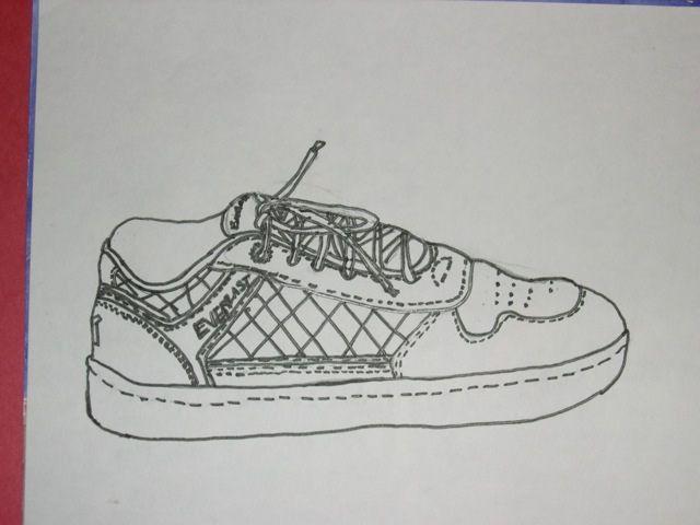 Contour Line Drawing Shoes Lesson Plan : Contour line drawing shoe contours drawings and art lessons