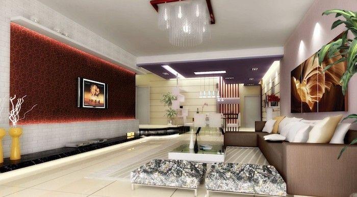 1001 + Ideen für moderne und stilvolle Deko für Wohnzimmer ...