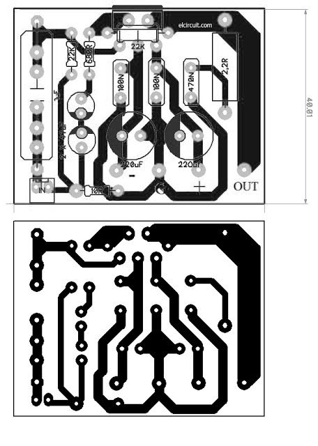 Assemble Mini Power Amp TDA2050 | PCB\'s Layout Design | Pinterest ...