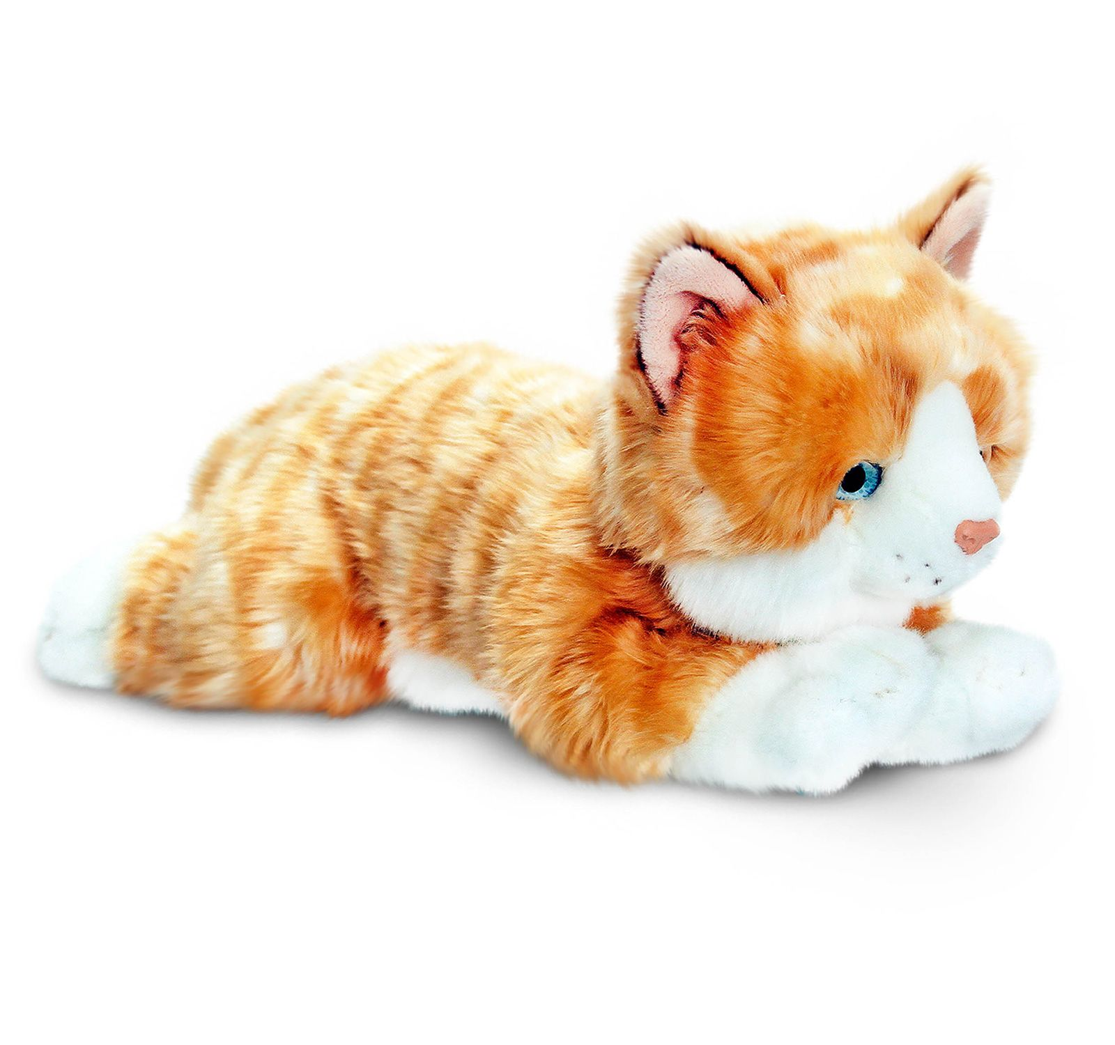 Keel Toys AMBER GINGER CAT Baby Toddler Kids Animal Soft Toy Gift