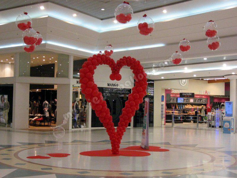 valentine decorations balloons - Buscar con Google | san valentin ...