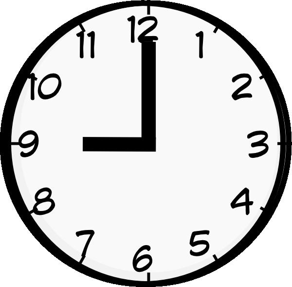 9 O Clock Clip Art Instagram Posts Clock