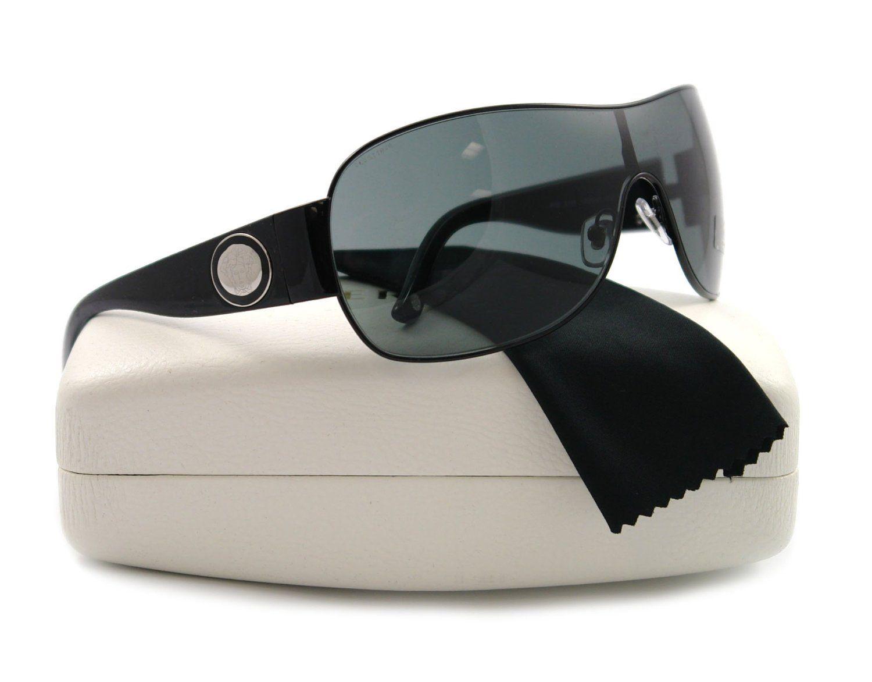 7c7008f1b5432 Versace Sunglasses VE2101 1009 87 Black Grey 136mm  Versace ...