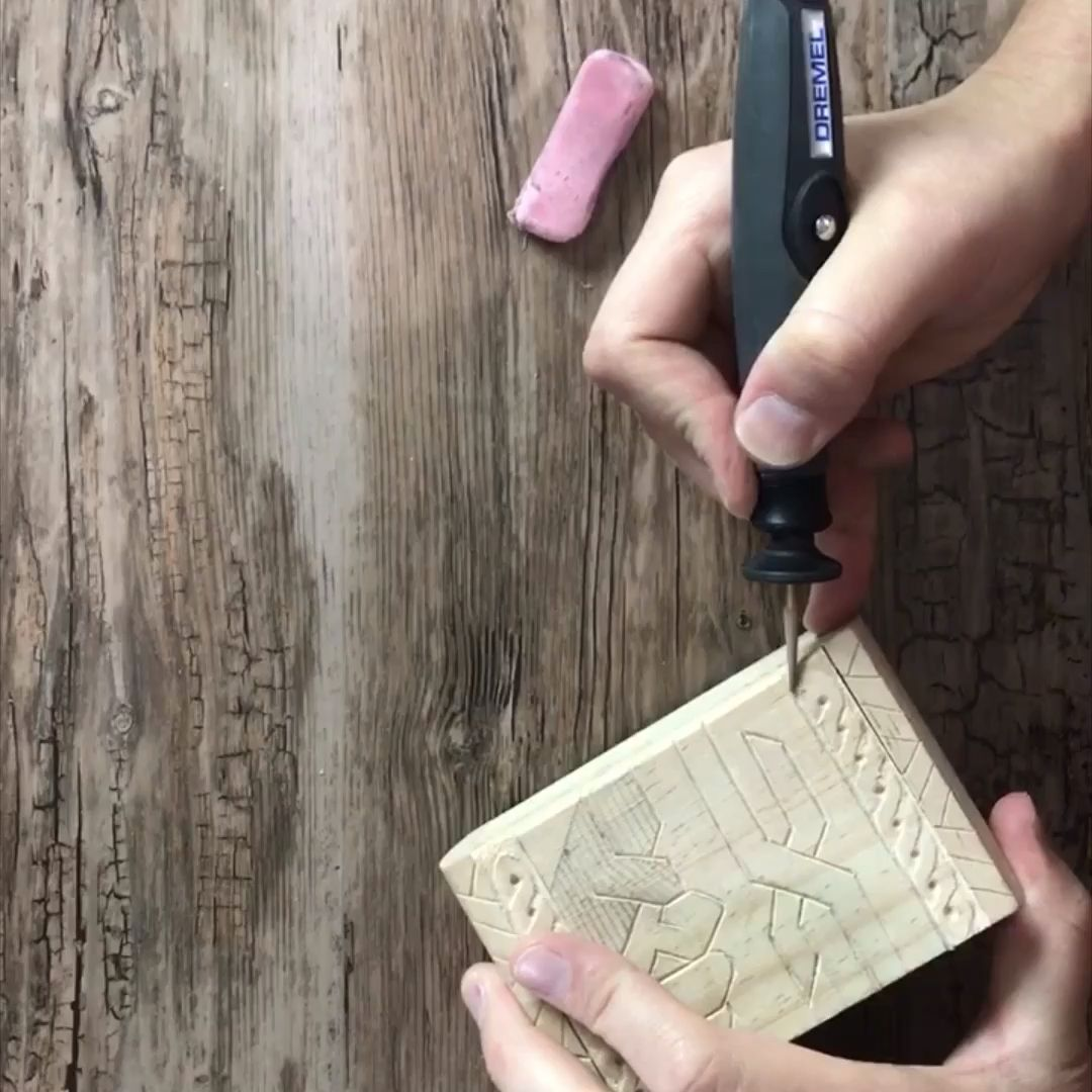 Photo of Wood Carving With a Dremel Tool