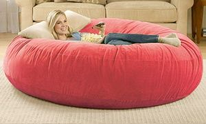 Wondrous Groupon Portable Snuggy Beanbag In Choice Of Colour For Uwap Interior Chair Design Uwaporg