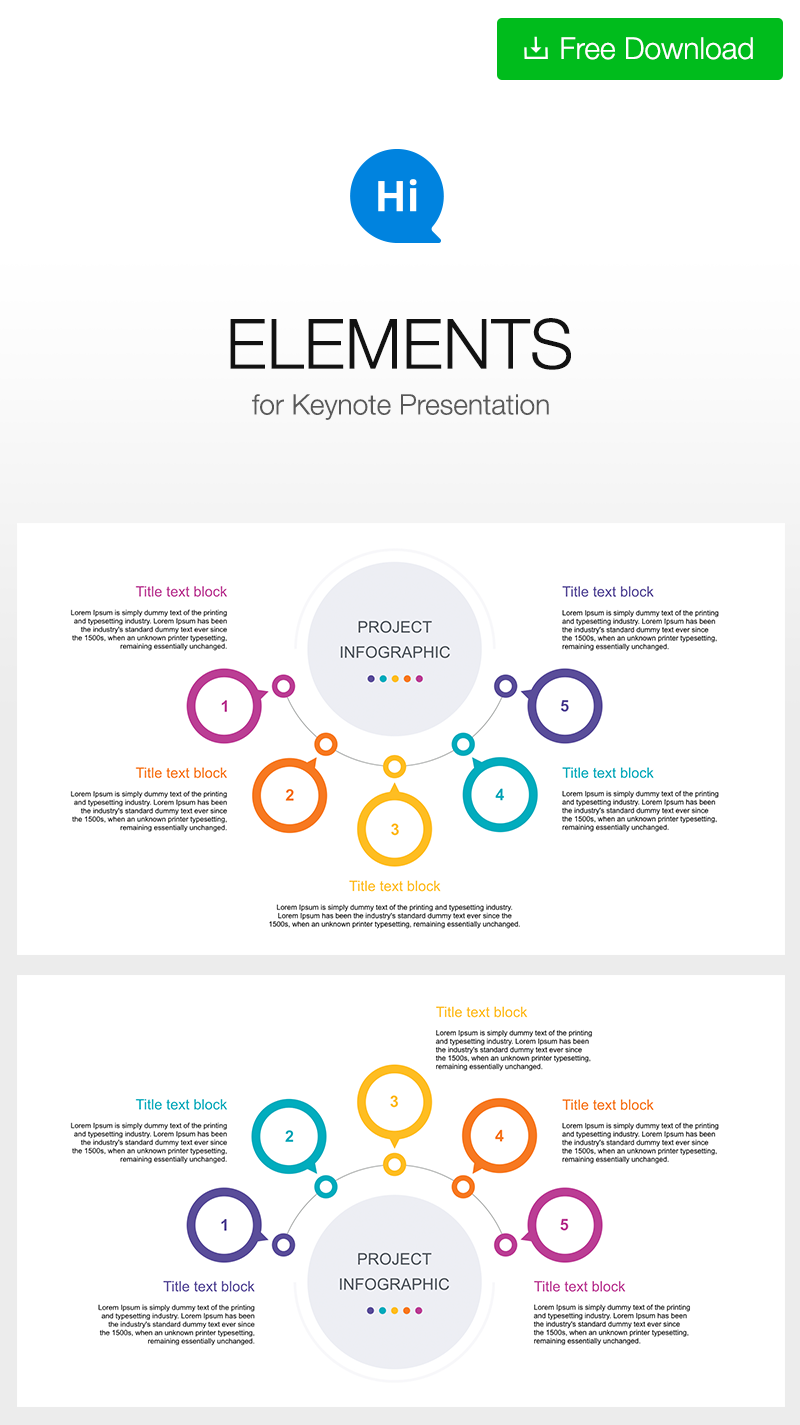 Free infographic template for keynote download link https full editable infographic 5 stage circular centre plan key for create keynote presentation support more powerpoint and keynote template toneelgroepblik Gallery