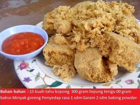 Resep Cara Membuat Tahu Crispy Isi Bakso Enak Dan Lezat Resep Tahu Resep Resep Masakan Malaysia