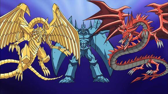 Egyptian God Monsters Yugioh Egyptian Gods Pokemon Vs Digimon
