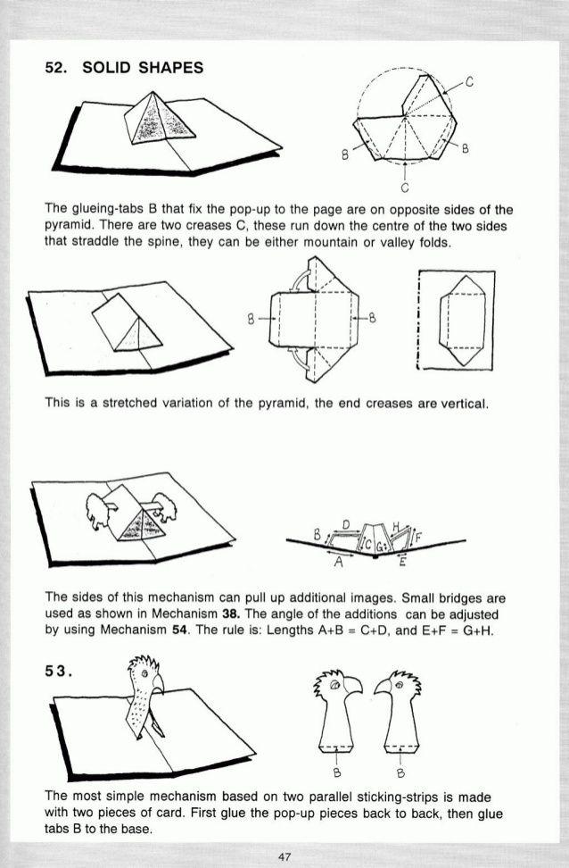 Pop Up A Manual Of Paper Mechanisms Duncan Birmingham Tarquin Boo Paper Pop Pop Up Card Templates Pop Up Art