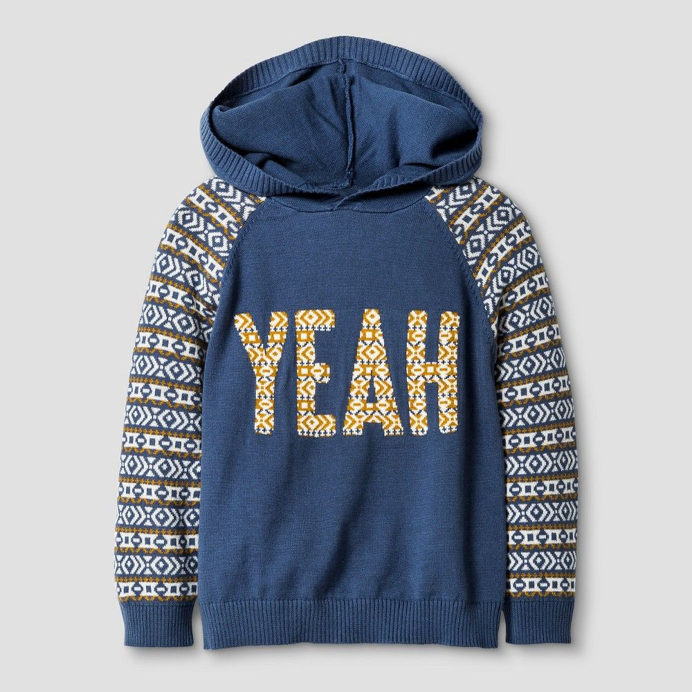 Toddler Boys\' Pullover Sweater - Metallic Blue 2T - Genuine Kids ...
