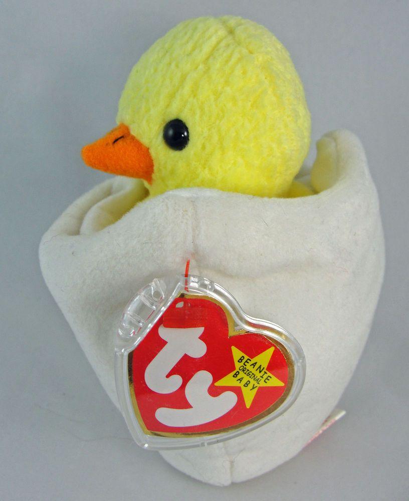 111292e02d4 Ty Beanie Baby EGGBERT the Chick in Egg 6