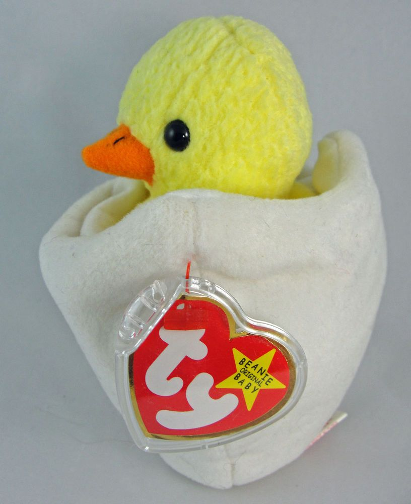 1ecbbca4943 Ty Beanie Baby EGGBERT the Chick in Egg 6