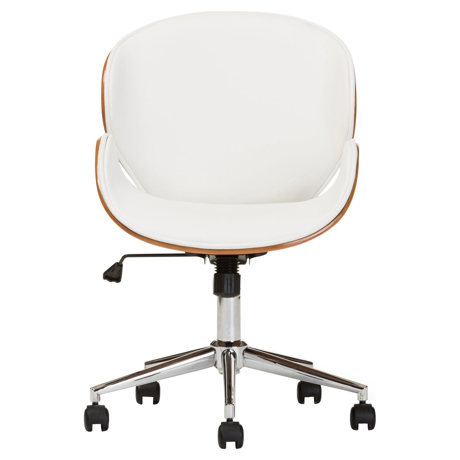 Baxton Studio Bruce Office Chair Contemporary Office Chairs