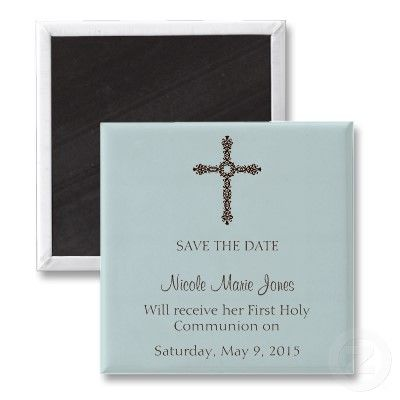 Save The Date Magnet 1st Communion Communion First Communion