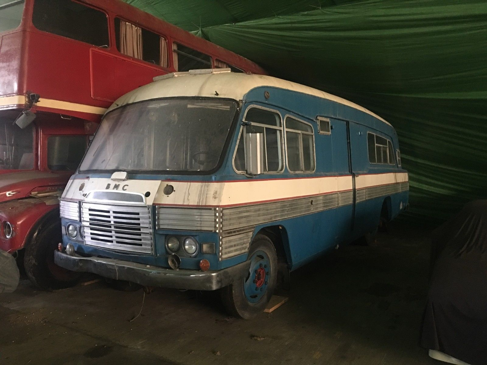 1963 BMC Pininfarina Technical Support Vehicle Barn Find Restoration Project
