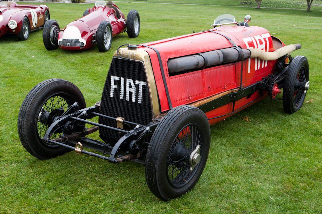 1908 FIAT grand prix car