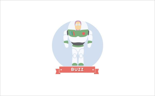 Buzz Lightyear Icon: Toy Story Icon