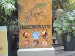 Hemingways Bar Sign - Google Search