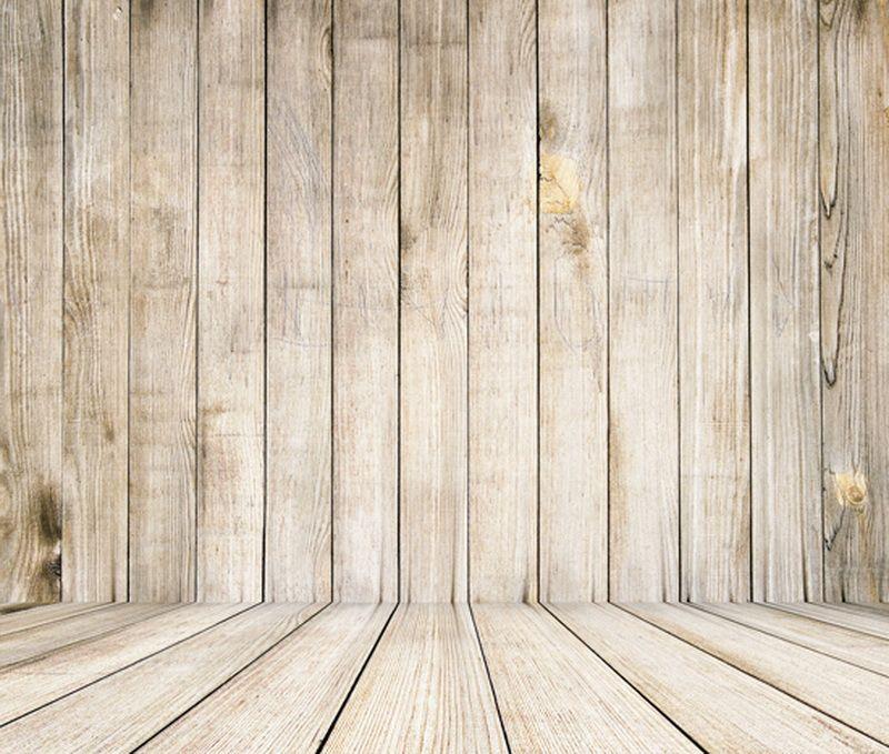 Fotografía De Fondo telón de fondo blanco pared de madera piso foto Studio Decoraciones