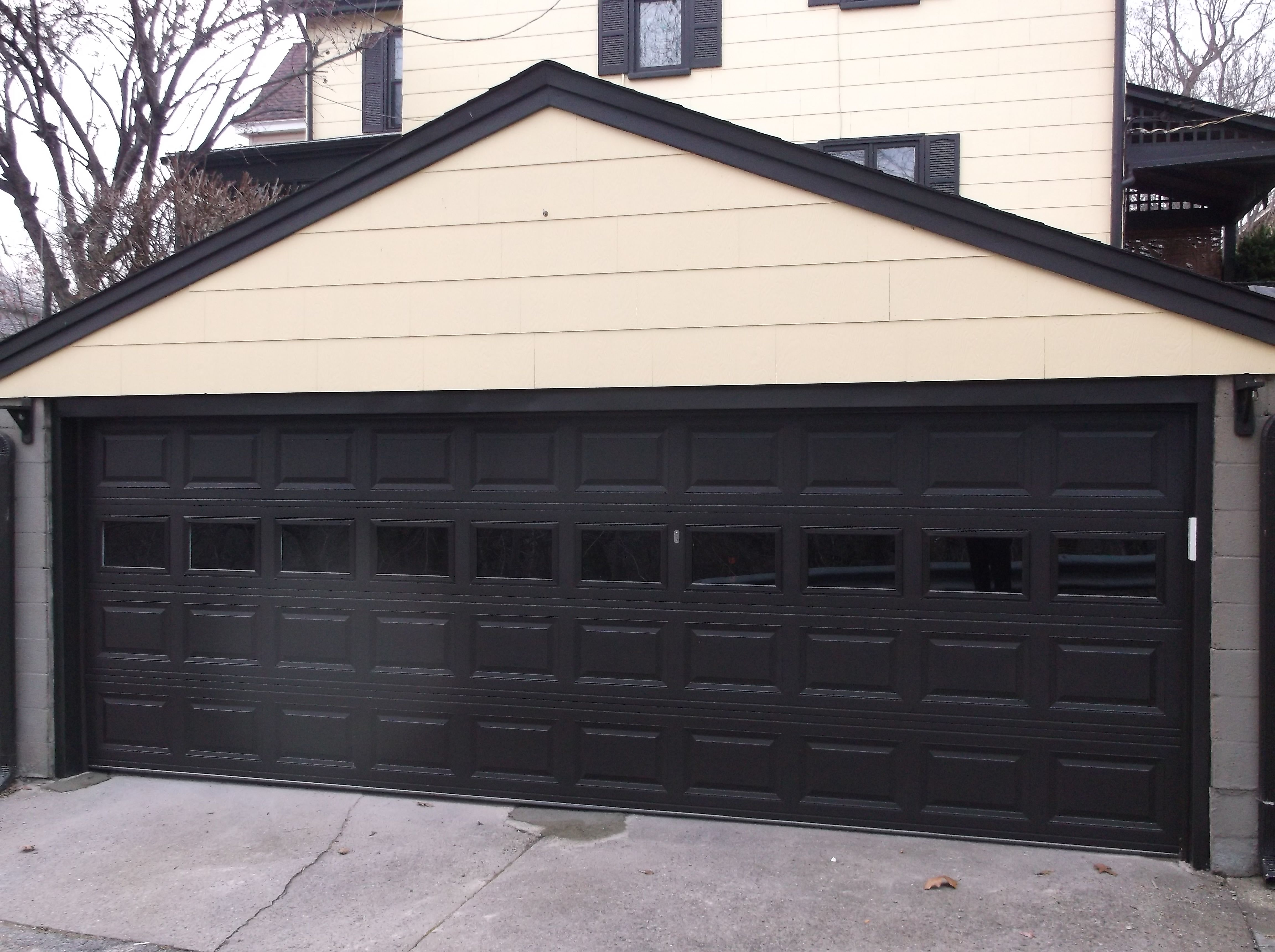 Chi 2283 Raised Panel Garage Door Installed By Thomas V Giel Garage