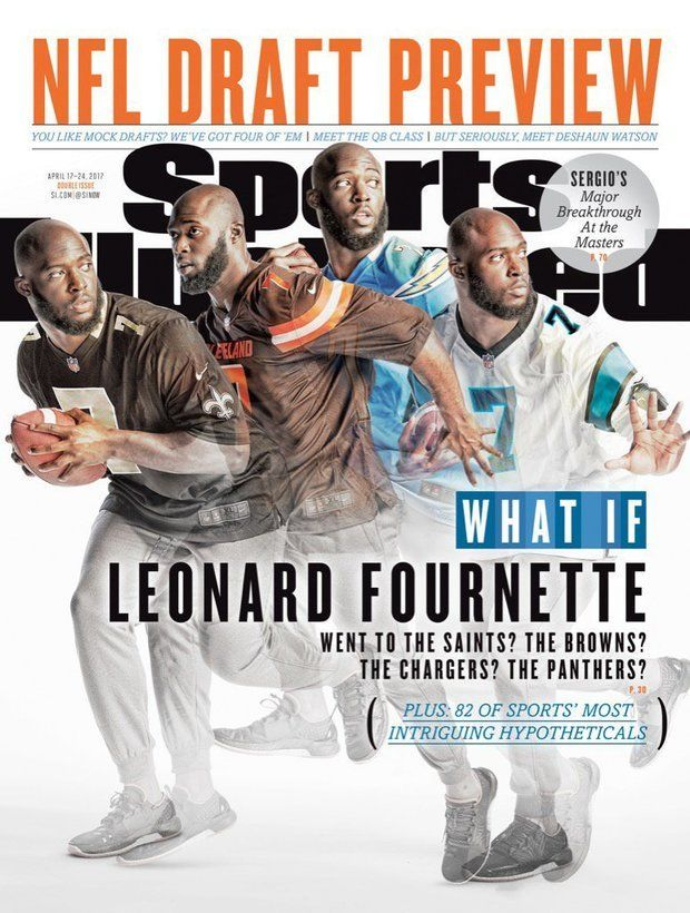 Leonard Fournette Makes Cover Of Sports Illustrated In A Saints Jersey Sports Illustrated Nfl Sports Illustrated Sports
