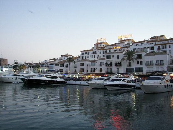 Puerto Banús Atardecer #malaga #viajes