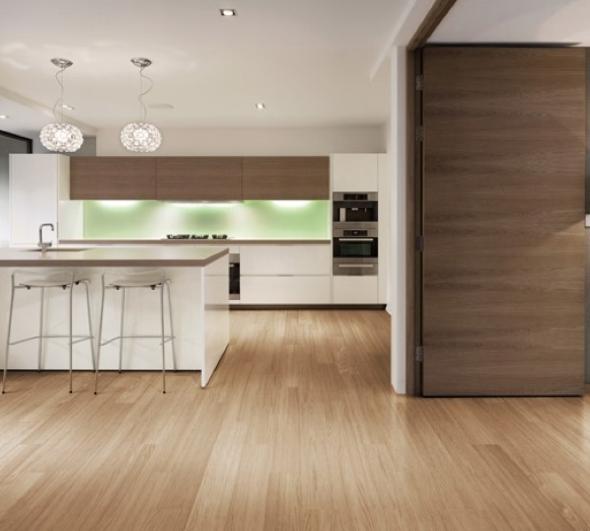 Exemplo de cer mica que imita madeira para o piso interior - Ceramica para fachadas casas ...