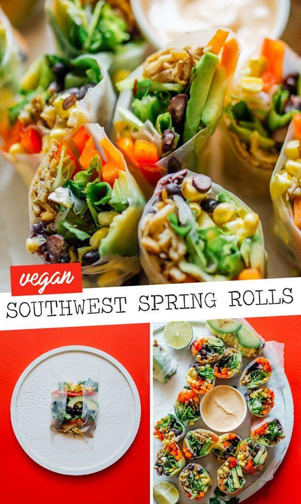 Southwest Spring Rolls