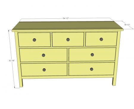 Kendal Extra Wide Dresser Build Your Own Dresser Free Plans From Ana Projects Diy
