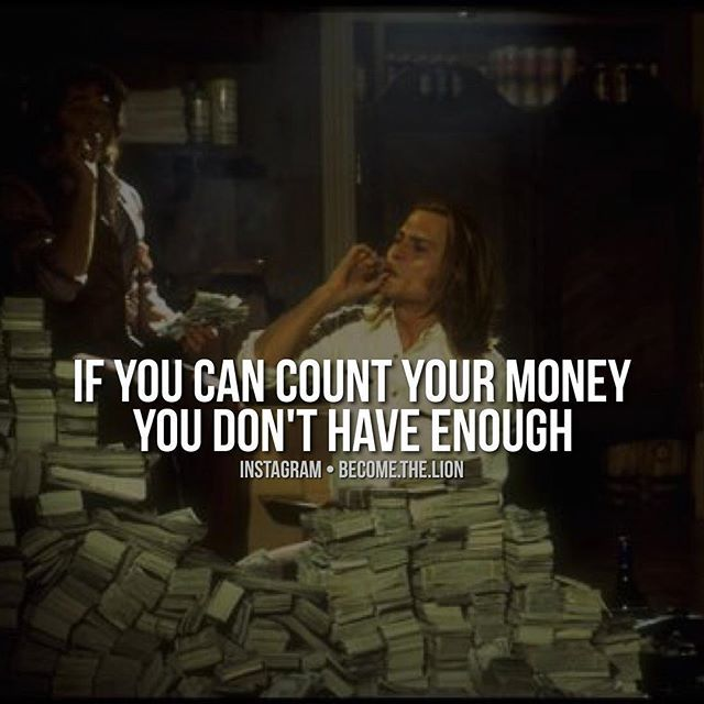Do you ever notice that the people who can count their money complain the most? They have to worry about bills, can only take one vacation per year. You see, you should be having so many income streams that you forget where it's all coming from. If you know the exact amount of money in your bank account right now, you need more. Why not try to make as much as you can? You're not doing a service to anyone by being broke. Who are you helping out? No one, and that's selfish. Having massive…