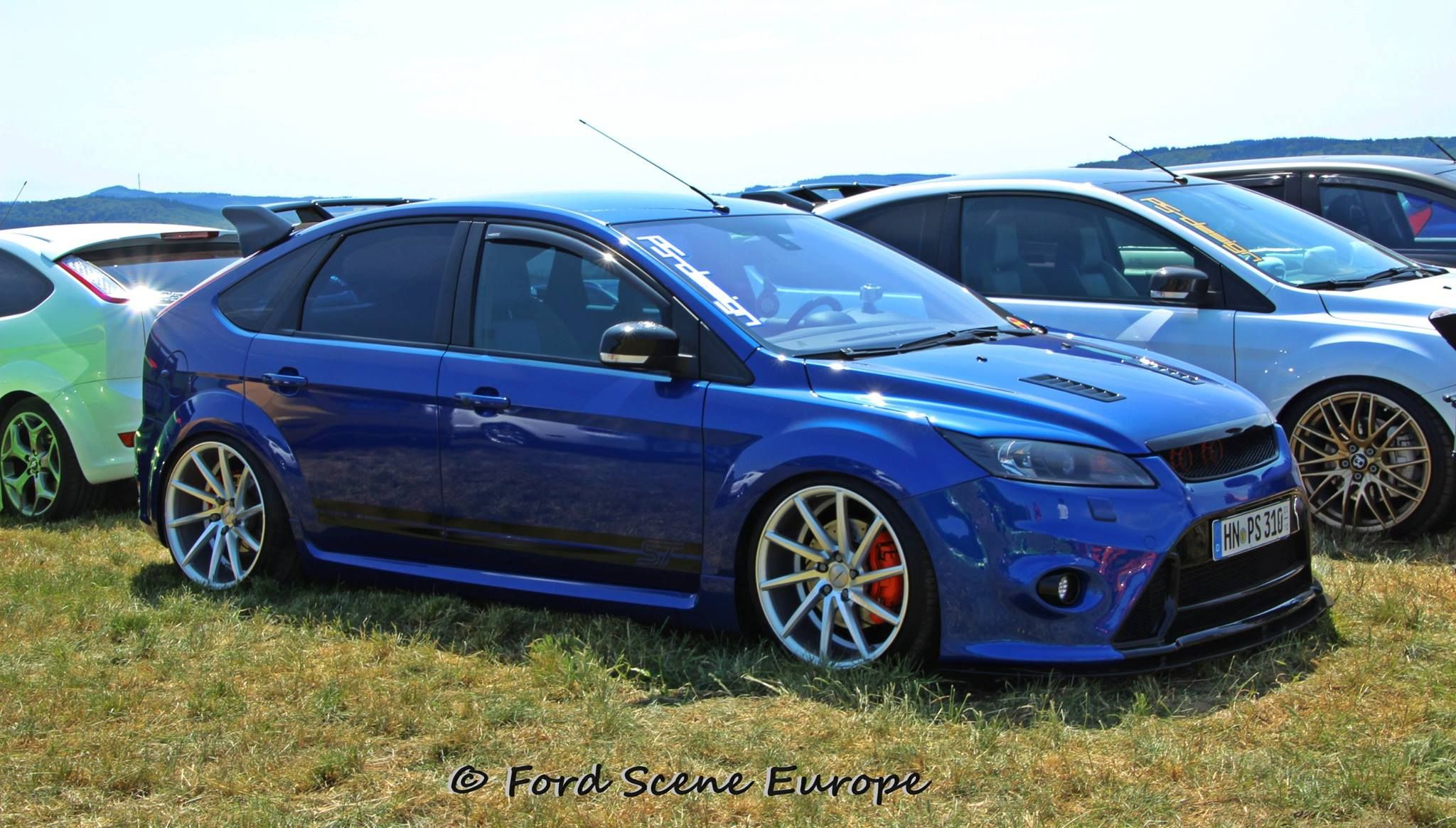 Blue Ford Focus St Rs Mk2 5 5 Doors Autos Carros Y Motos